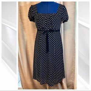 Merona   Polka Dot Empire dress